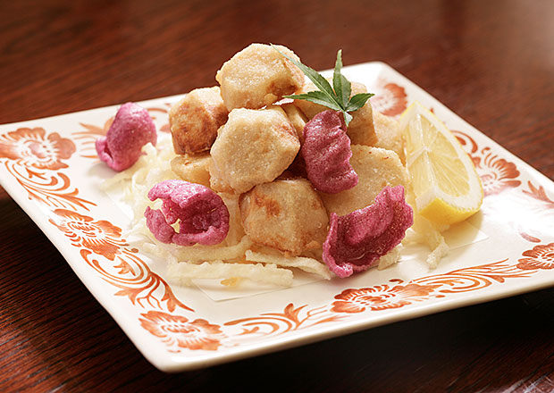 Deep fried taro
